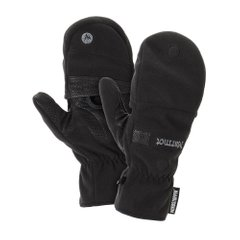 Перчатки мужские Marmot Windstopper Convertible Glove, True Black, р.S (MRT 15440.001-S)