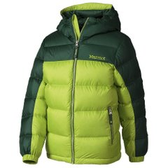 Куртка для мальчика Marmot - Boy's Guides Down Hoody Vermouth / Deep Forest, M (MRT 73700.4674-M)