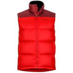 Жилет мужской Marmot - Guides Down Vest Team Red / Port, M (MRT 73110.6935-M)